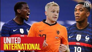 International Duty | Van de Beek, Martial, McTominay, Pogba, Bailly | Manchester United