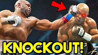*OMG* MIKE TYSON KNOCKED OUT BY ROY JONES JR DOUBLE *2020 EXHIBITION FIGHT UPSET*