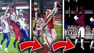 Kyler Murray Miracle Hail Mary to DeAndre Hopkins Gets RECREATED in Madden 21 and Tecmo Super Bowl