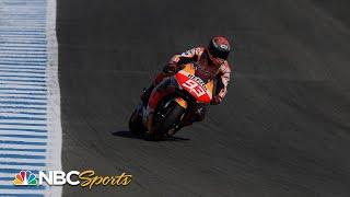 Marc Marquez, Alex Rins impress in official test ahead of Grand Prix of Spain   Motorsports on NBC