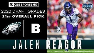 The Philadelphia Eagles add a HOME RUN THREAT in Jalen Reagor and the 21st pick | 2020 NFL Draft