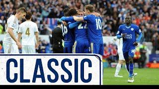 Ulloa Helps City To Huge Win | Leicester City 4 Swansea City 0 | Classic Matches