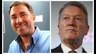 WOW! EDDIE HEARN SPEAKS TO FRANK WARREN ON THE PHONE, REVEALS WHAT WAS SAID, FIRST EVER CONVERSATION