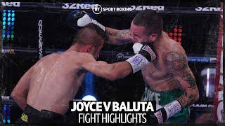 Crazy fight and big upset! David Oliver Joyce v Ionut Baluta highlights