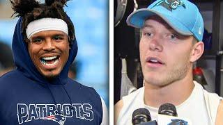 NFL Players REACT to Cam Newton Signing with the New England Patriots