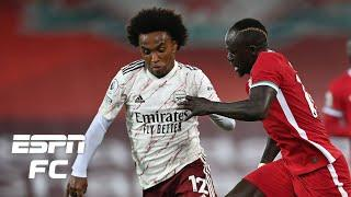 Willian DISAPPEARED for Arsenal in 3-1 loss vs. Liverpool - Frank Leboeuf | ESPN FC