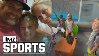 Greg Olsen Shares Video of his Son Telling Siblings He's Getting Heart Transplant | TMZ Sports