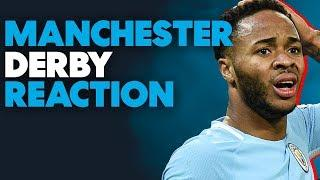 MANCHESTER DERBY: Man City HEATED Dressing Room Scenes After Man Utd 3-2 Derby Loss