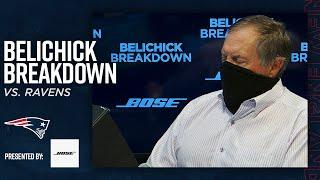 Bill Belichick Analyzes How the Patriots Slowed the Ravens Run Game | Belichick Breakdown