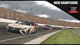eNASCAR Coca-Cola iRacing Series from New Hampshire Motor Speedway