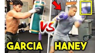 *FULL* RYAN GARCIA vs DEVIN HANEY SPARRING, TRAINING SIDE BY SIDE- HEAVY BAG, PADS, STRENGTH