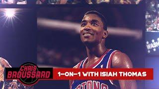 """Chris Broussard goes 1-on-1 with Isiah Thomas LIVE: """"The Last Dance"""" Reactions & more 