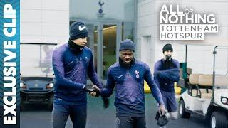 Mourinho Referees Spurs Training Exercise! | All or Nothing: Tottenham Hotspur