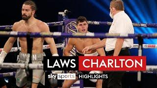 Laws floored THREE times in THREE rounds! | Joe Laws vs Rylan Charlton | FULL FIGHT