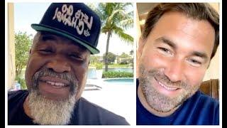 'F*** FIGHTING YOU BARE KNUCKLE!' - EDDIE HEARN TELLS SHANNON BRIGGS / & DISCUSS WORKING TOGETHER?