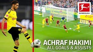 Achraf Hakimi - All Goals and Assists 2019/20