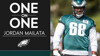 Jordan Mailata Looking to Maintain Consistency Heading into Week 5 | Eagles One-On-One