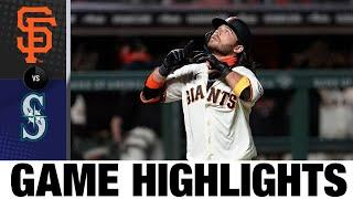 Three Giants homer in a 9-3 win over the Mariners | Giants-Mariners Game Highlights 9/16/20