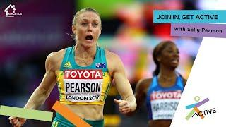 Home Workout with Sally Pearson | Athletics@Home