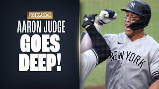 Aaron Judge launches CLUTCH early homer for Yankees vs. Rays in ALDS Game 5!