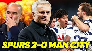MOURINHO MASTERCLASS DESTROYS GUARDIOLA | Spurs 2-0 Man City | The Reaction