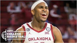 No. 24 Sooners upset No. 5 Texas in road victory  {HIGHLIGHTS] | ESPN College Basketball