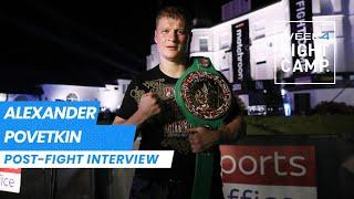 WOW! Alexander Povetkin gets off the deck twice to wipe out Dillian Whyte
