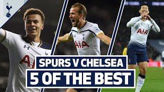 5 OF THE BEST | SPURS BEST HOME GOALS V CHELSEA | Son, Bale, Kane, Sheringham & Dele