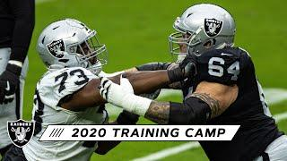 Raiders Wrap Up 2020 Training Camp With Practice at Allegiant Stadium | Las Vegas Raiders