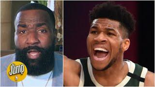 Kendrick Perkins called out Giannis for his head-butt ... but Perk had a head-butt once! | The Jump