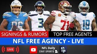 NFL Free Agency LIVE, Latest NFL News + Signings, NFL Trade Rumors, Top Free Agents Left In 2021