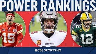 Final NFL Power Rankings: Bucs at No. 1, Packers at No. 3 | CBS Sports HQ