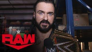 Drew McIntyre on the importance of defeating Seth Rollins: Raw Exclusive, May 4, 2020