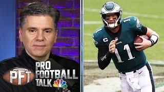 PFT Draft: Carson Wentz, Lamar Jackson need to step up in Week 4 | Pro Football Talk | NBC Sports