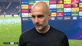 """""""We'll Come Back One Day Again!"""" Pep Guardiola Reacts To Man City's Champions League Heartbreak"""