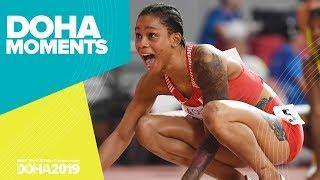 Salwa Eid Naser Storms to 400m Gold | World Athletics Championships 2019 | Doha Moments