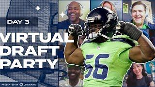 Cliff Avril Joins Seahawks Virtual Draft Party | 2020 NFL Draft