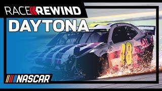 Jimmie Johnson's playoff hopes dashed as Byron scores win | NASCAR Cup Series Race Rewind | Daytona