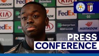 'I'll Always Give My Best For The Team' - Papy Mendy   Leicester City vs. SC Braga   2020/21