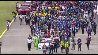 NASCAR unites around Bubba Wallace at Talladega Superspeedway | NASCAR Cup Series