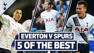 5 OF THE BEST | SPURS BEST GOALS AT GOODISON PARK | Ft. Kane, Dele, Ginola, Jenas & Eriksen!