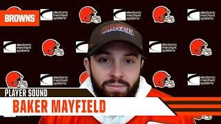 """Baker Mayfield: """"I'm feeling good. One day at a time right now."""""""