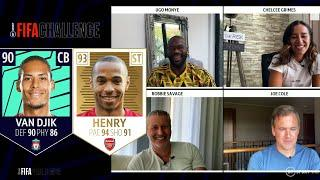 Premier League draft with 'Icon' picks! The BT Sport FIFA Challenge begins