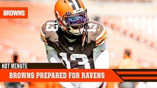 Browns Prepared to Take on Ravens in Opener | Browns Hot Minute