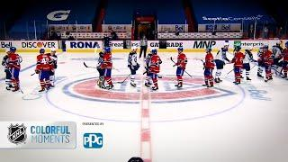 PPG Colorful Moments: Montreal Canadiens vs. Winnipeg Jets