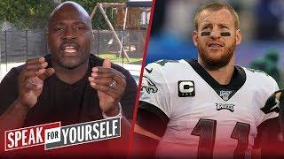 Carson Wentz's reliability is the reason the Eagles drafted Hurts — Wiley | NFL | SPEAK FOR YOURSELF