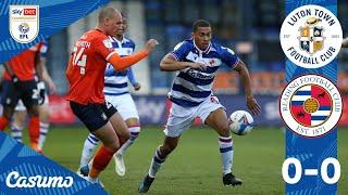 LUTON 0-0 READING   Royals restricted to goalless affair