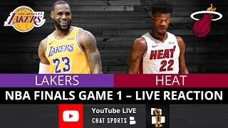 Lakers vs. Heat NBA Finals Game 1 Live Streaming Watch Party & Play-By-Play Reaction