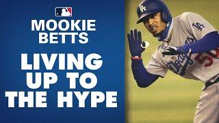 Mookie Betts - Tearing it up in first season with Dodgers! (8 home runs, amazing in the field)