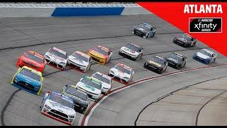 EchoPark 250 at Atlanta Motor Speedway | NASCAR Xfinity Series Full Race Replay